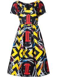 платье с принтом 'Moschino Couture' Moschino