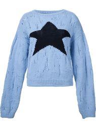 свитер с изображением зведы  Enfants Riches Deprimes