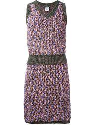 комплект из трикотажных юбки и топа  Chanel Vintage