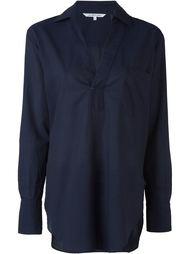 рубашка c V-образным вырезом   Helmut Lang