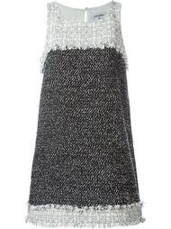 короткое платье букле  Chanel Vintage
