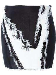 юбка мини с принтом Versace