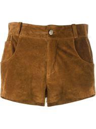 короткие шорты с бахромой Au Jour Le Jour