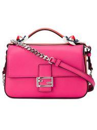 микро сумка через плечо 'Fashion Show Double Baguette' Fendi