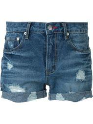 джинсовые шорты с потертой отделкой Guild Prime