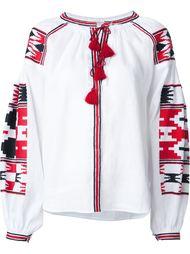блузка с этнической вышивкой Vita Kin