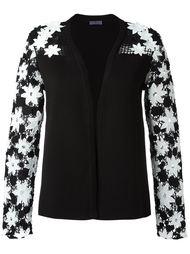 свитер с цветочной аппликацией  Emanuel Ungaro