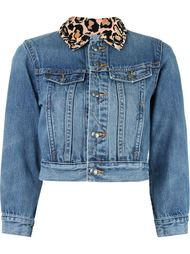 укороченная джинсовая куртка Marc By Marc Jacobs