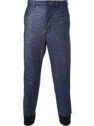 спортивные брюки с эффектом денима Loveless