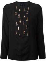декорированная блузка  Lanvin
