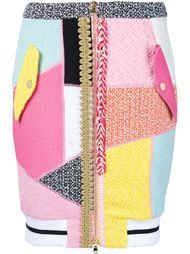 лоскутная юбка-карандаш Moschino