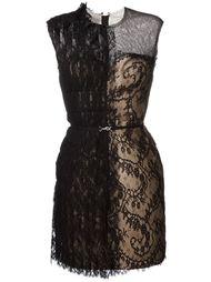кружевное платье  Lanvin