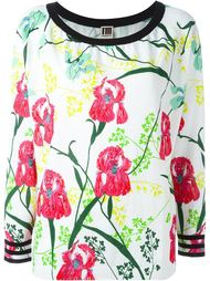 свитер с цветочным принтом  I'M Isola Marras