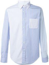 рубашка с узором  Wooster + Lardini
