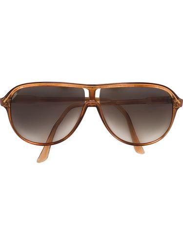 солнцезащитные очки с каплевидной оправой Courrèges Vintage