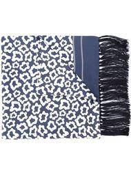 шарф с леопардовым принтом E. Tautz