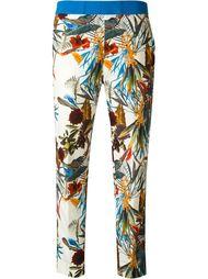 укороченные брюки с цветочным принтом  I'M Isola Marras