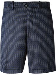 шорты с геометрическим узором Lanvin