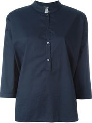 блузка с воротником-мандарин Kristensen Du Nord