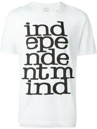 футболка 'Independent mind' Paul Smith