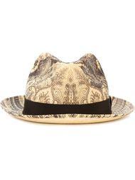 шляпа с принтом пейсли  Etro