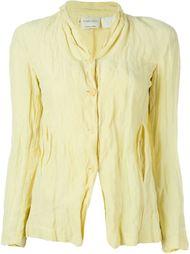 рубашка с эффектом помятости Romeo Gigli Vintage