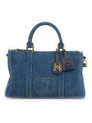 джинсовая бостонская сумка  Chanel Vintage