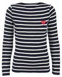 свитер с вышивкой  Comme Des Garçons Play