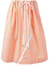 полосатая юбка Jil Sander
