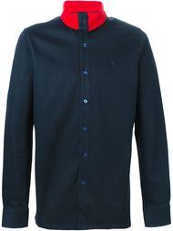 рубашка с контрастным воротником   Raf Simons