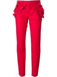 брюки с гофрированными деталями Simone Rocha X J Brand