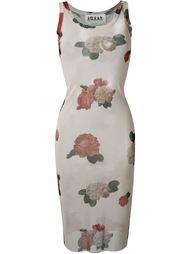 платье с цветочным принтом A.W.A.K.E