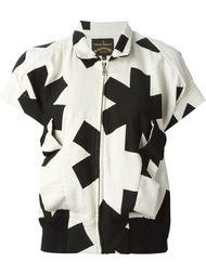куртка с короткими рукавами и принтом  Vivienne Westwood Anglomania