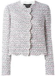 приталенный твидовый пиджак Giambattista Valli