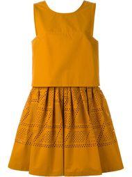 платье без рукавов Fendi