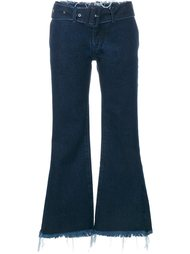 укороченные расклешенные джинсы  Marques'almeida