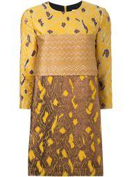 платье-шифт с парчовым узором Scanlan Theodore