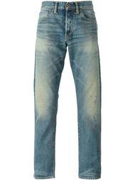 выбеленные джинсы с потертой отделкой Simon Miller