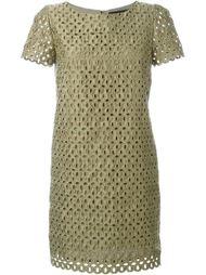 платье с лазерной перфорацией  Marco Bologna