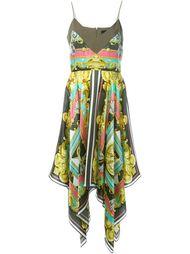 платье с комбинированным принтом  Marco Bologna