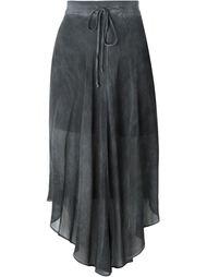 асимметричная прозрачная юбка  Lost & Found Ria Dunn