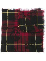 шарф в клетку Alexander McQueen