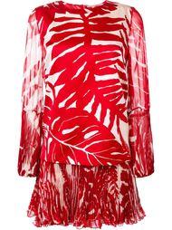 платье с растительным принтом  Ermanno Scervino