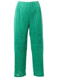 укороченные брюки  Pleats Please By Issey Miyake
