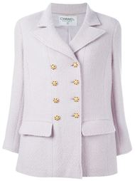 укороченное пальто на пуговицах Chanel Vintage