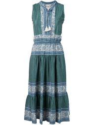 крестьянское платье 'Sabine'  Sea