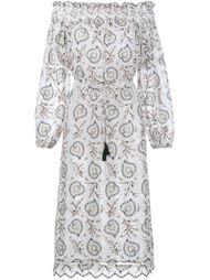 платье с открытыми плечами Zimmermann