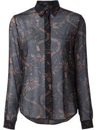 блузка с принтом Barbara Bui