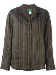 куртка в полоску Kenzo Vintage