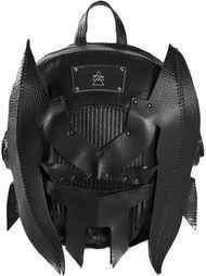 рюкзак с аппликацией в форме маски Anne Sofie Madsen